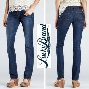 "Lucky Brand ""Sofia Straight"" Jeans Sz 2/26 MidRise"